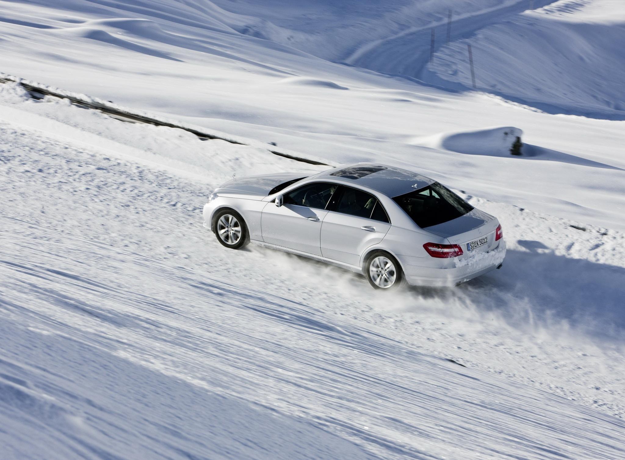 Машины Зимой Обои На Рабочий Стол